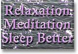 Button image link for Relaxation, meditation and better sleep